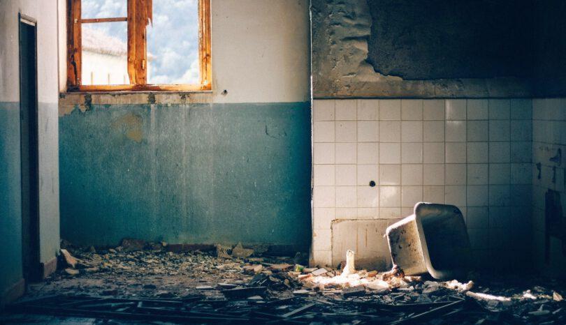 Vervuilde woning opknappen